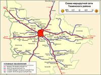 Схема маршрутной сети